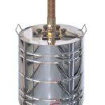 Ректификационная колонна Cuprum&Steel «SuperStar», бак 25л