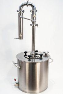 Дистиллятор Фаворит «Эксклюзив» полностью разборный (кламп 1,5″) бак 50 л