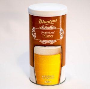 Солодовый экстракт Muntons PILSNER 1,8 кг