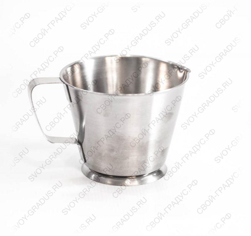 Кувшин мерный 0,5 литра, нерж.сталь