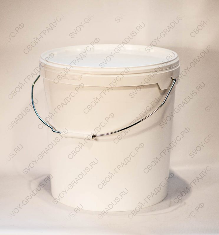 Ёмкость 21,3 литра с герметичной крышкой из пищевого пластика