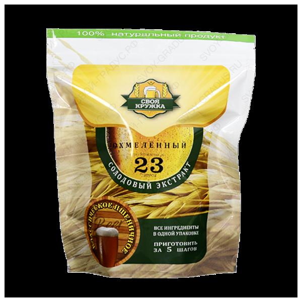 Солодовый экстракт «Пшеничное классическое охмелённое» 2,1 кг
