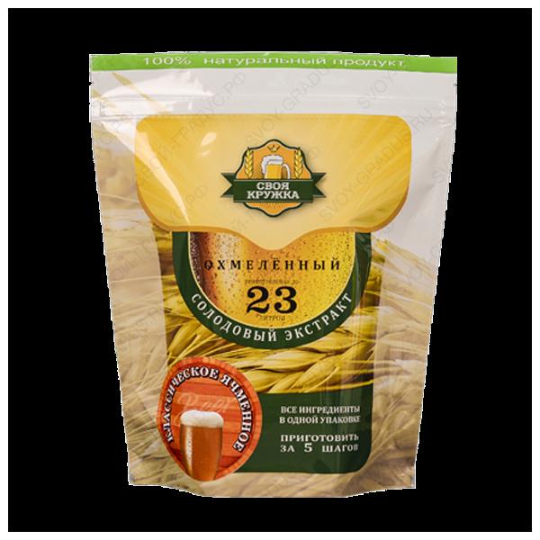 Солодовый экстракт «Ячменное классическое охмелённое» 2,1 кг