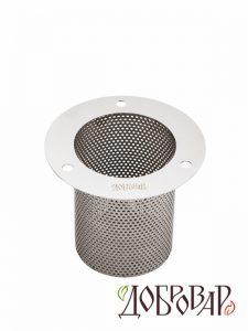 Корзина-экстрактор «Добровар» под 3 шпильки, глубина 100 мм