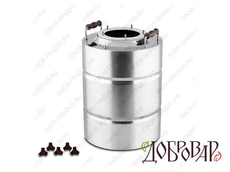 Куб «Добровар» 17 л, 5 шпилек (без крышки)
