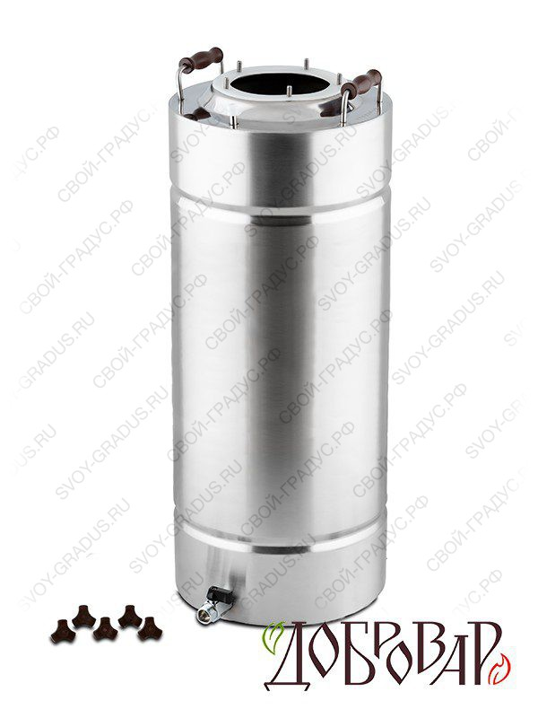 Куб «Добровар» 35 л, 5 шпилек (без крышки)