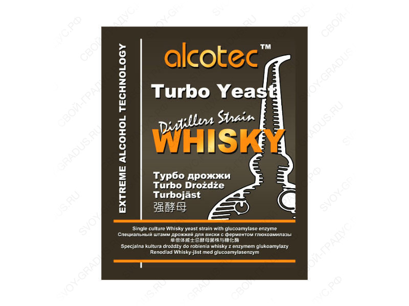 Турбо дрожжи Alcotec Whisky