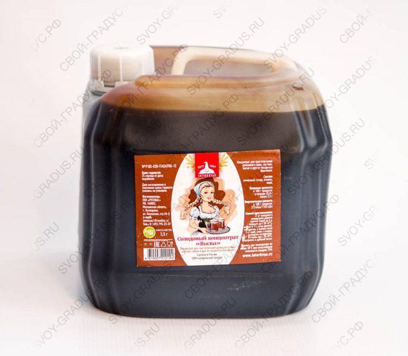 Солодовый экстракт «ВИСКИ», ёмкость 3л (4 кг)