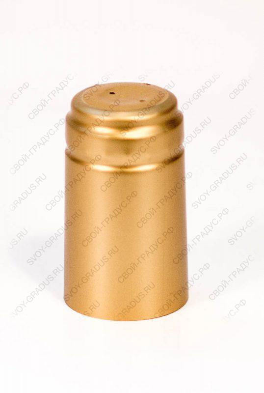 Термоусадочный колпачок 31*61 «Золотистый»