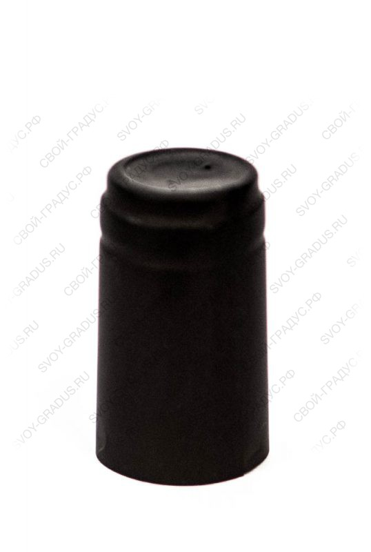 Термоусадочный колпачок 31*55 «Чёрный»