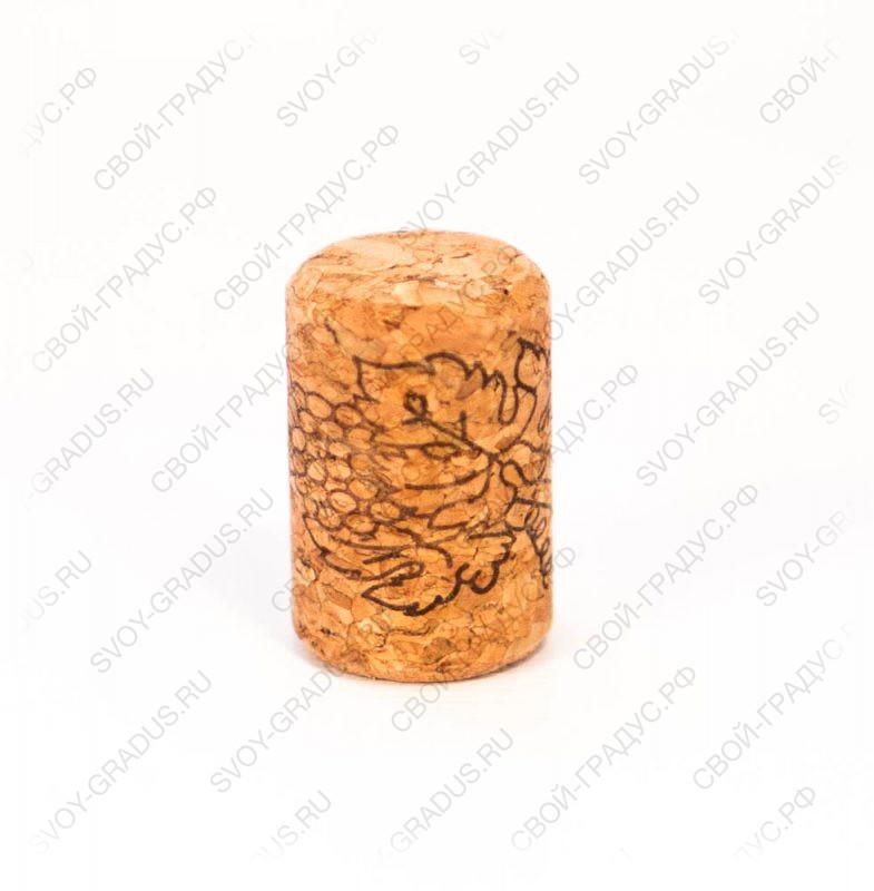 Пробка корковая для тихих вин 35*23 мм.