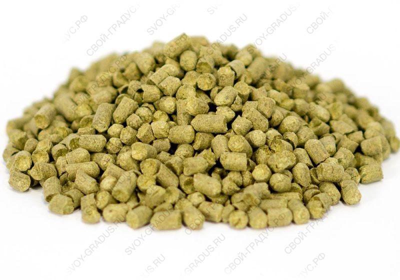Хмель гранулированный Перле (Perle), α-7% (100г)