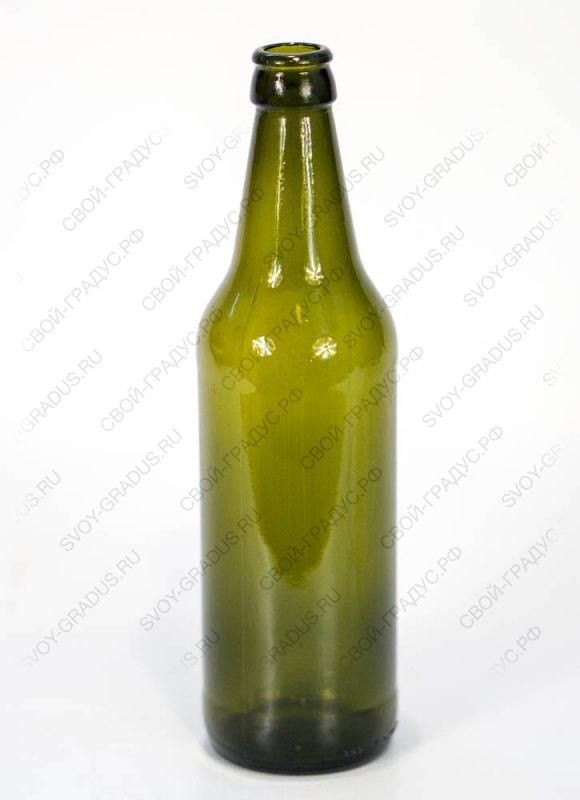 Бутылка пивная 0,5л Варшава (оливка)