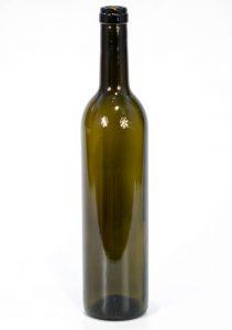 Бутылка 0,75л «Винная» тёмное стекло