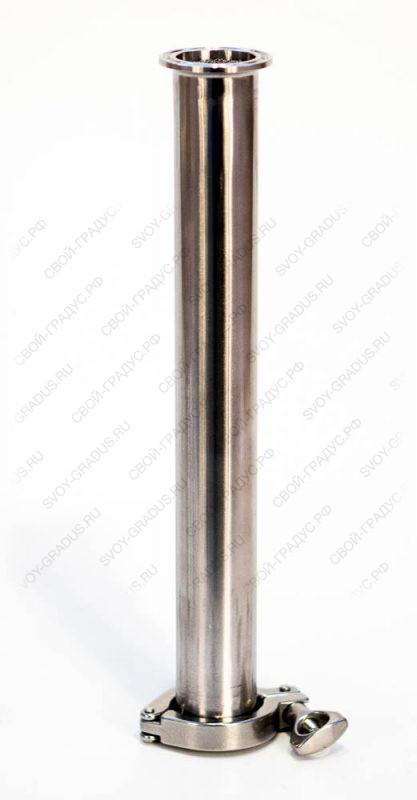Царга 75 см. диаметром 38 мм. кламп-соединение 1,5″