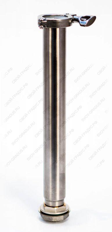Царга 30 см. диаметром 38 мм., кламп 1,5″/резьба 1″ с РПН