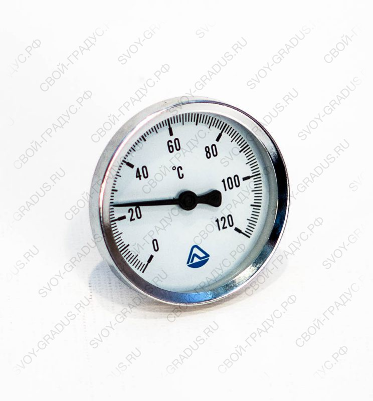 Термометр биметаллический ТБ-63-50 (0…+120°С)