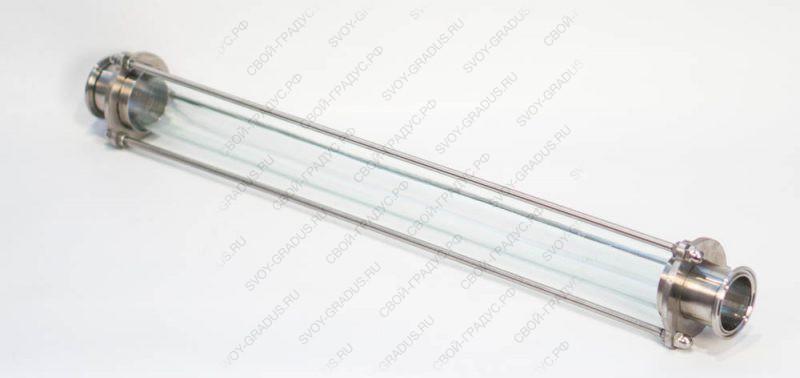 Царга стеклянная 50см (кламп 2″)