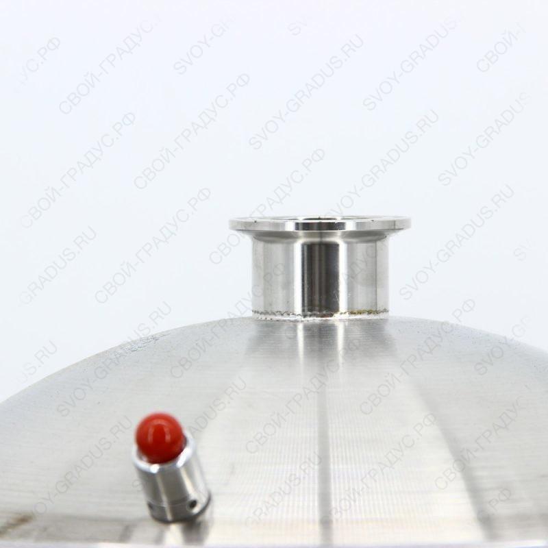 Перегонный куб SUS304 50 литров, кламп 2″ + 1,5″