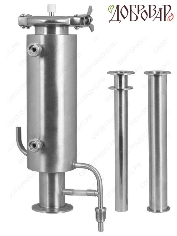 Дистиллятор-дефлегматор «Эврика» вертикальный