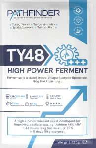 Спиртовые дрожжи Pathfinder TY48 Turbo High Power Ferment, 135 г