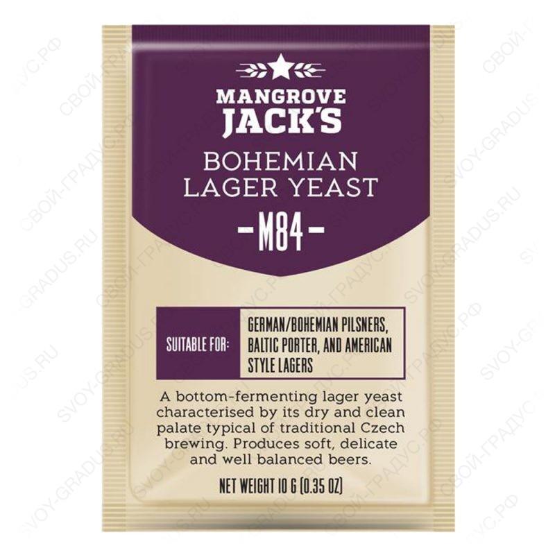 Дрожжи пивные Mangrove Jack's «Bohemia Lager M84», 10г