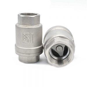 Клапан обратный, резьба 1/2″ нерж.сталь