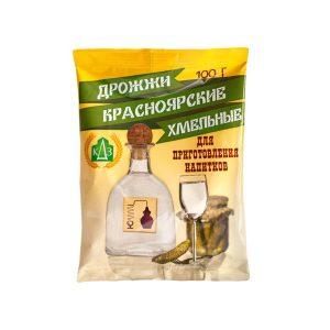 Дрожжи спиртовые «Красноярские Хмельные», 100г