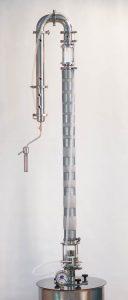 Непрерывная Бражная Колонна (НБК) «Фаворит» 2″ с кубом 50 литров