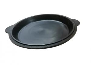 Крышка-сковорода чугунная для казана 12 литров