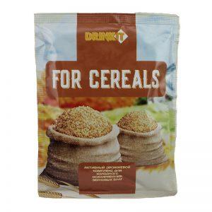 Дрожжи для холодного осахаривания зерновых браг DRINKIT FOR CEREALS 63г